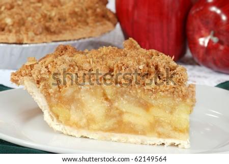 macro apple crisp shallow DOF