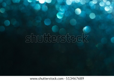 Macro brilliant blue Christmas decoration ball #513467689