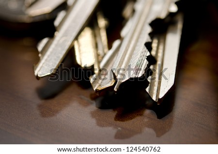 Macro Bunch of keys
