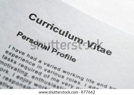 ejemplos de resume. Ejemplos de CURRICULUM VITAE