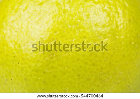 macro close up of lime fruit...
