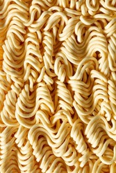 Macro Instant Noodles,Texture of instant noodles close up,Japanese Food,Close To,Noodles,Pasta,Above,Abstract,Asia,Asian Food,Backgrounds,Block Shape,Built Structure,Cereal Plant,Chinese Culture,