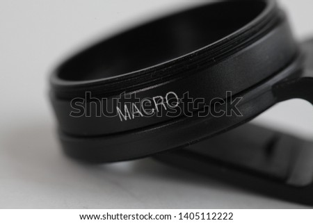 Macro lens and wide lens for smartphone