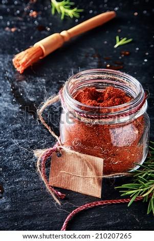 macro marinade powder container ...