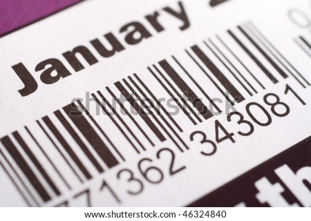 magazine barcode with price and date. hair people magazine barcode.