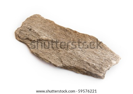 macro of slate, a fine-grained, foliated, homogeneous metamorphic rock
