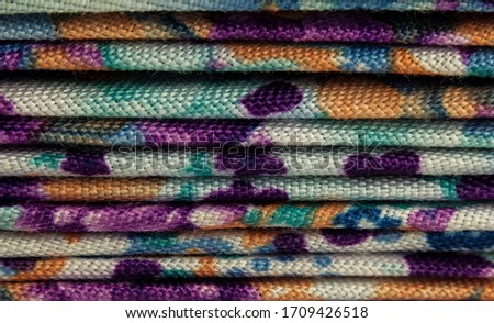 macro or close-up photo of the fabrics as abstract background, wallpaper, banner, textile, tissue, or pattern Stock fotó ©