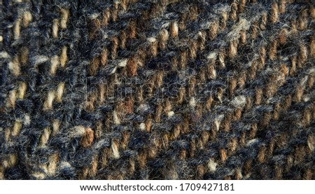 macro or close--up photography of the vintage shirt as abstract background, wallpaper, banner, texture, tissue, or pattern concept. Stock fotó ©