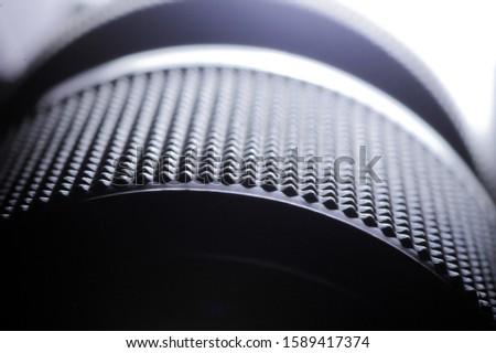 Macro photo of a len