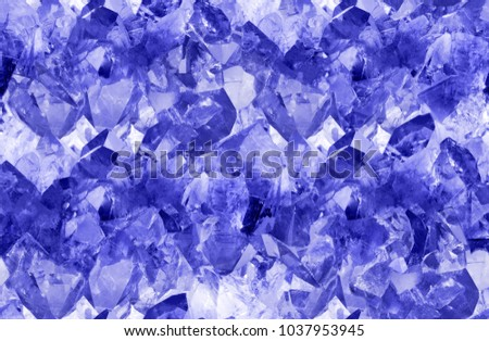macro photo of blue sapphire crystals seamless background