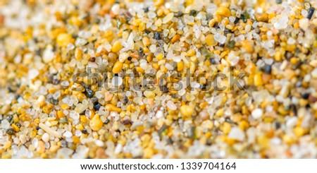 Macro Photograph of Sand on a Beach