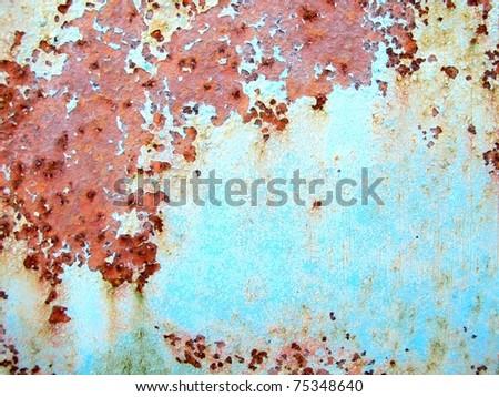 Macro rust & paint background 2
