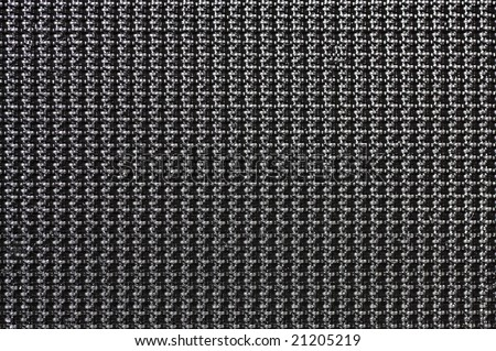 Macro shot of black velcro for a background