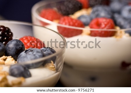 macro shot of colorful fresh fruit