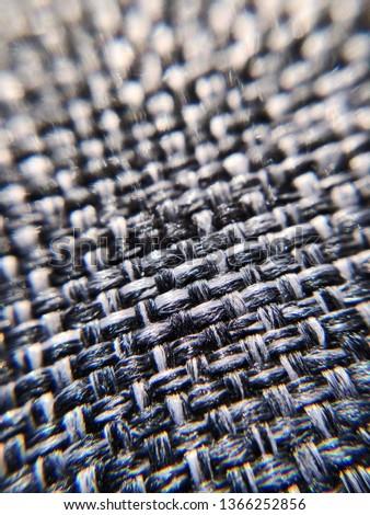 Macro shot of couch fibers Stock fotó ©