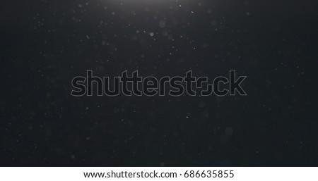 macro shot of dust float for overlay