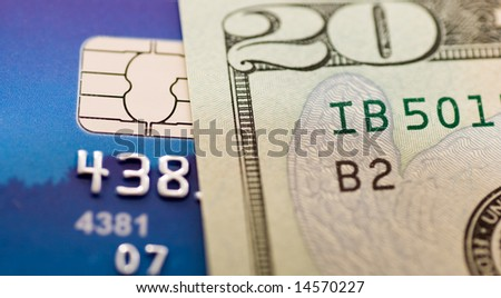 Macro view on money and credit card