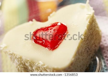 macro white sponge-cake