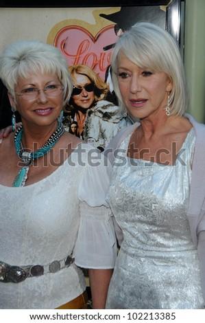Madam Susan Austin And Helen Mirren At The