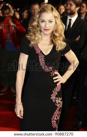 "Madonna arrives for the premiere of ""W.E."", as part of the London Film Festival 2011, at the Vue West End, London. 23/10/2011 Picture by: Steve Vas / Featureflash"