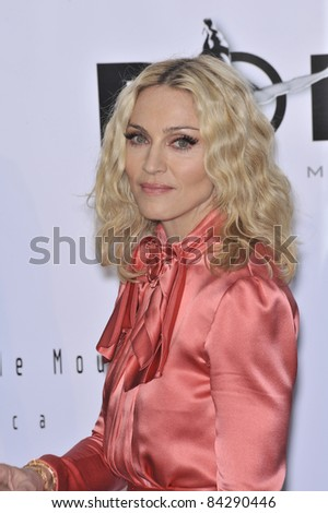 Madonna at the 61st Annual Cannes Film Festival amfAR's Cinema Against AIDS 2008 Gala at Le Moulin de Mougins restaurant.  5-22-08 Cannes, France. By: Paul Smith / Featureflash