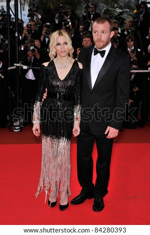 "Madonna & Guy Ritchie at the premiere of ""Che"" at the 61st Annual Cannes Film Festival. May 21, 2008  Cannes, France. Picture: Paul Smith / Featureflash"