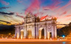 Madrid city - shots of Spain - Travel Europe