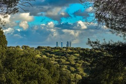 Madrid from the Pardo Forest