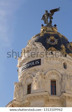 Madrid Metropolis, Spain. #1313109962