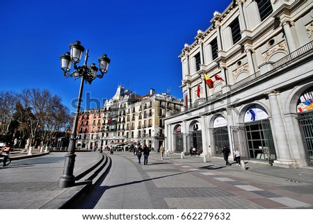 madrid  spain   march 16  2017  ...