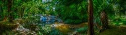Mae Sa Noi Waterfall in Botanic Garden, Chiang Mai Province.