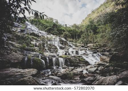 mae ya waterfall  chiang mai...