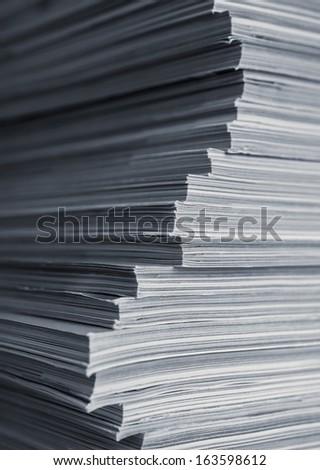 Magazine Stack Macro #163598612