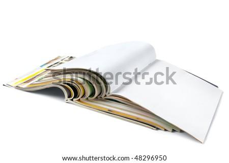 Magazines isolated