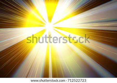 mage of a bright flash closeup #712522723