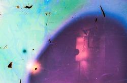 magenta lomography film effect background