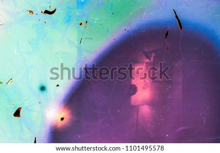 magenta lomography film effect background Photo stock ©