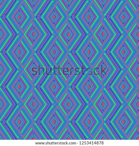 Magian abstract background multicolor cube geometric pattern seamless.