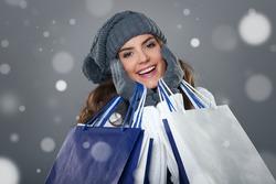 Magic and successful shopping in winter season