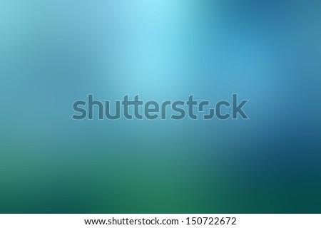 magic blue blur abstract...