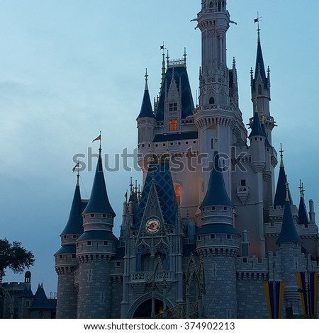 Magic Kingdom Castle #374902213