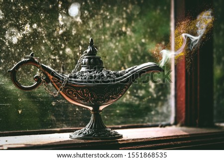 Magic lamp, magic from the lamp