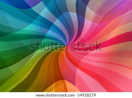 magic multicolored sunbeam background