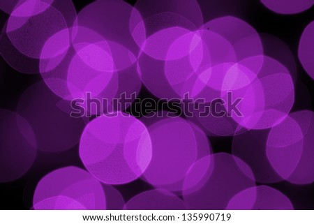 Magic party purple lights as a background