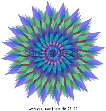 Magic raster flower