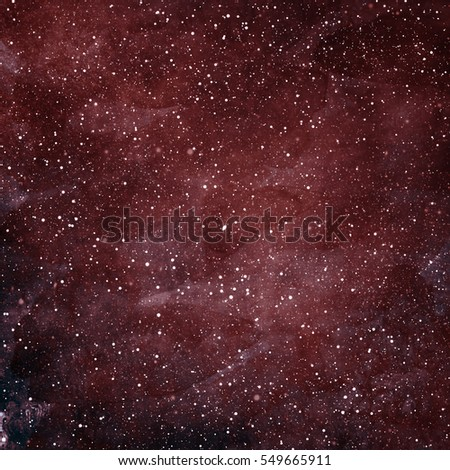 Magic universe filled with stars. Watercolor - Shutterstock ID 549665911