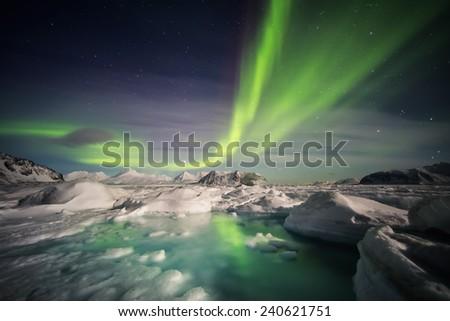 Magical Arctic Polar Night - Spitsbergen