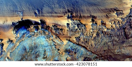 magical cliffs,  allegory, tribute to Pollock, abstract photography of the, deserts of Africa from the air,aerial view, abstract expressionism, contemporary photographic art, abstract naturalism,