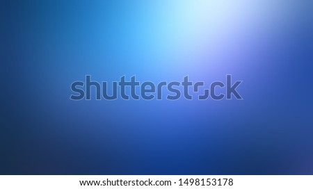 Magical low light on deep blue defocus illustration. Aurora borealis pattern. Wonderful sky blur background. Secret abstract template.