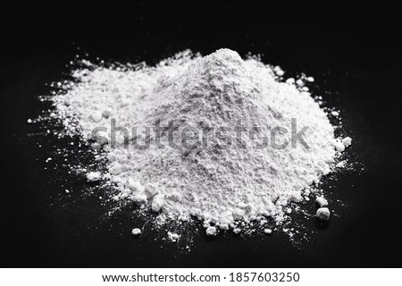 Magnesium oxide, is a natural product, obtained from the calcination of the mineral magnesia, strengthens the digestive system. Medicine or pharmacy concept. Сток-фото ©